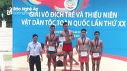 Đoàn Nghệ An giành 8 huy chương tại giải vật dân tộc toàn quốc