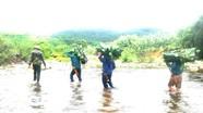 Thanh niên vượt hàng chục km đi hái lá dong chuẩn bị Tết Trung thu cho trẻ em