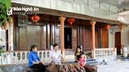 Làng có nhiều nhà cổ trăm năm tuổi ở Nghệ An