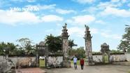 Độc đáo nghệ thuật kiến trúc, điêu khắc ở ngôi đền thiêng bậc nhất xứ Nghệ