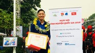 Cán bộ huyện đoàn ở Nghệ An xuất sắc đạt giải Tình nguyện Quốc gia
