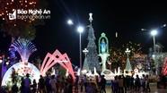 Rực rỡ sắc màu Giáng sinh ở giáo xứ Nghi Lộc