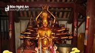 Chiêm ngưỡng tượng Phật 24 tay độc đáo ở Nghệ An