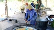 Mùa kéo che, nấu mật Tết ở Nghệ An
