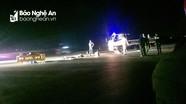 Xe máy va chạm xe tải, người đàn ông tử vong trên đường về quê vợ