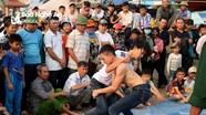 Giới trẻ háo hức tranh tài trong hội vật chùa Gám
