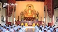 200 phật tử tham dự khóa tu 3 ngày tại chùa Cổ Am