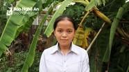 Gánh cả gia đình, nữ sinh Nghệ An vẫn giành giải Nhất Học sinh giỏi tỉnh