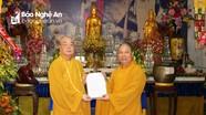 Lễ nhập tự, công bố quyết định bổ nhiệm sư trụ trì chùa Tu