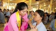 Hàng nghìn người dự đại lễ Vu Lan báo hiếu tại chùa Tu ở Nghi Lộc