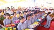 Hàng nghìn người dự đại lễ Vu Lan báo hiếu và an vị tượng Phật tại chùa Hương
