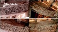Độc đáo nghệ thuật điêu khắc ngôi nhà thờ họ lưu giữ sắc phong của vua Quang Trung