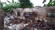 Gia cảnh đáng thương của vợ chồng mù bị cháy nhà lâm vào cảnh 'màn trời chiếu đất'