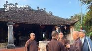 Giáo hội Phật giáo Nghệ An khảo sát các chùa cổ