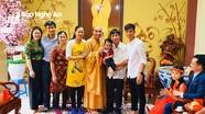 Phan Văn Đức, Hà Quỳnh Như đi chùa đầu năm