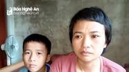 Hai em nhỏ mồ côi bố, mẹ bị ung thư não tại Nghệ An được Làng trẻ SOS Vinh giúp đỡ