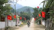 Đường quê Nghệ An rợp sắc cờ hoa mừng Tết Độc lập