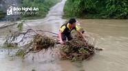 Nghệ An: Một người chết do ảnh hưởng hoàn lưu sau bão số 5