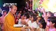 Nhiều chùa trong tỉnh tổ chức vui Tết Trung thu