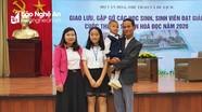 Nữ sinh Nghệ An đạt giải Nhất cuộc thi 'Đại sứ Văn hóa đọc' toàn quốc