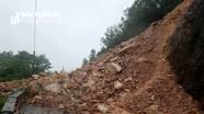 Cận cảnh hiện trường sạt lở kinh hoàng tại núi Nguộc