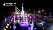 Cảnh sắc Giáng sinh lung linh rực rỡ ở Giáo xứ Nghi Lộc