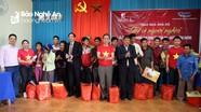 Báo Nghệ An, VEC tặng quà Tết cho người dân xã nghèo Xiêng My