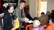 Báo Nghệ An, Công ty CP Arita trao tặng quà Tết cho hộ nghèo xã Hưng Tây (Hưng Nguyên)