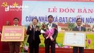 Xã Khánh Sơn (Nam Đàn) đón bằng công nhận xã đạt chuẩn Nông thôn mới