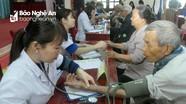 Hàng trăm người dân tại Nghi Lộc và Tân Kỳ được khám bệnh, cấp thuốc miễn phí