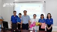 Bệnh viện đa khoa TP Vinh thành lập các CLB của đoàn thanh niên