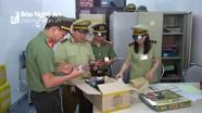 Quản lý thị trường Nghệ An xử lý 2.649 vụ vi phạm trong 6 tháng