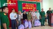 Tổng Cục II - Bộ Quốc phòng trao quà, khám, cấp thuốc cho người nghèo ở Kỳ Sơn