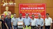 Các hoạt động thiết thực hỗ trợ học sinh nghèo, gia đình khó khăn tại Nghệ An
