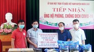 Hội Chữ thập đỏ tỉnh Nghệ An hỗ trợ các hoàn cảnh khó khăn bị ảnh hưởng bởi dịch Covid-19