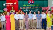 Đại hội Đảng bộ xã Hưng Thịnh (Hưng Nguyên) nhiệm kỳ 2020-2025