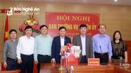 Lãnh đạo Sở Giao thông Vận tải chúc Tết tại huyện Anh Sơn