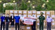 Hội Hữu nghị Việt Nam – Lào trao tặng nhân dân Lào 200.000 khẩu trang phòng chống dịch Covid -19