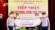 Bệnh viện ĐK Cửa Đông và Tai mũi họng Miền Trung ủng hộ Quỹ phòng chống Covid-19 hơn 200 triệu đồng