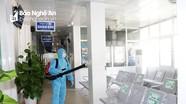 100% cán bộ y tế, bệnh nhân, người nhà tại Bệnh viện ĐKTP Vinh âm tính với virus SARS-CoV-2