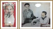 Hai bức tranh quý về Bác Hồ của họa sỹ người Canada