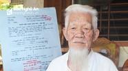 Hy hữu chuyện cụ già 92 tuổi kiến nghị sửa sai chế độ hưu trí