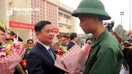 Nghệ An: Hơn 3.250 công dân lên đường nhập ngũ