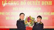 Công bố quyết định bổ nhiệm Phó Cục trưởng Cục Hải quan Nghệ An