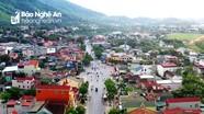 Thị xã Thái Hòa tập trung xây dựng kết cấu hạ tầng đồng bộ, hiệu quả
