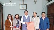 Ban Tuyên giáo Tỉnh ủy chúc mừng Giáo xứ Quy Chính nhân Lễ Giáng sinh năm 2020