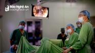 Tán sỏi ngược dòng bằng Lasez tại Bệnh viện Đa khoa Thành phố Vinh