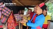 Khôi phục nghề dệt thổ cẩm truyền thống ở bản Bộng xã Thành Sơn, Anh Sơn