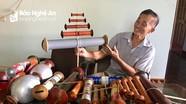Thú chơi diều sáo công phu của cụ ông U80 xứ Nghệ