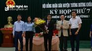 Tương Dương bầu chức danh Chủ tịch UBND huyện